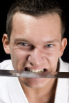 Sword in the mouth
